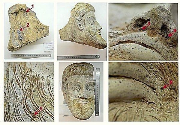 Ученые установили возраст терракотовой головы, найденной при строительстве Крымского моста